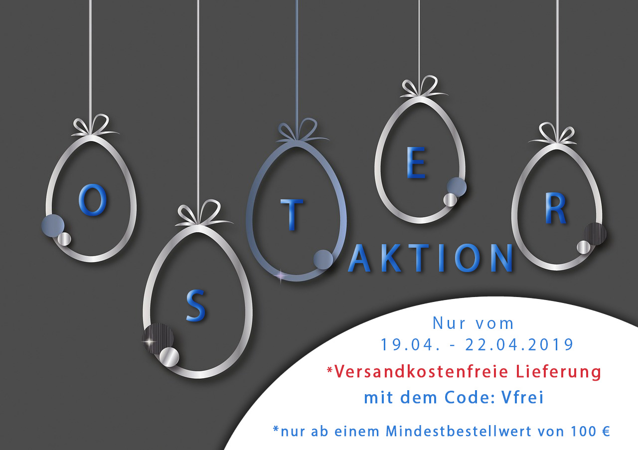 Oster-Aktion - Versandkostenfreie Lieferung