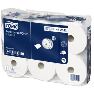 Tork T8 Advanced SmartOne Toilettenpapier 207 m 2-lagig...