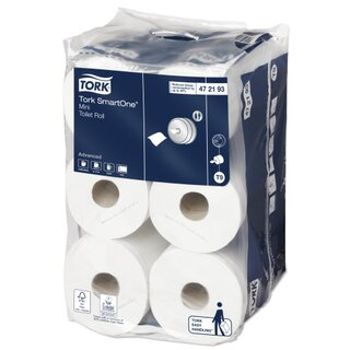 Tork T9 Advanced SmartOne Mini Toilettenpapier 112 m...