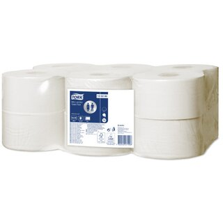 Tork T2 Advanced Mini Jumbo Toilettenpapier 170 m 2-lagig...